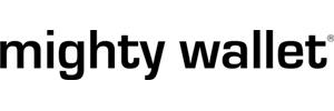 Logo Mighty Wallet portefeuille en Tyvek